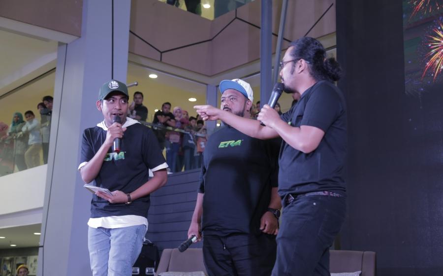 JoHaRa Tour Di Pulau Pinang Gamat Dengan Kehadiran 1,000 Pengunjung