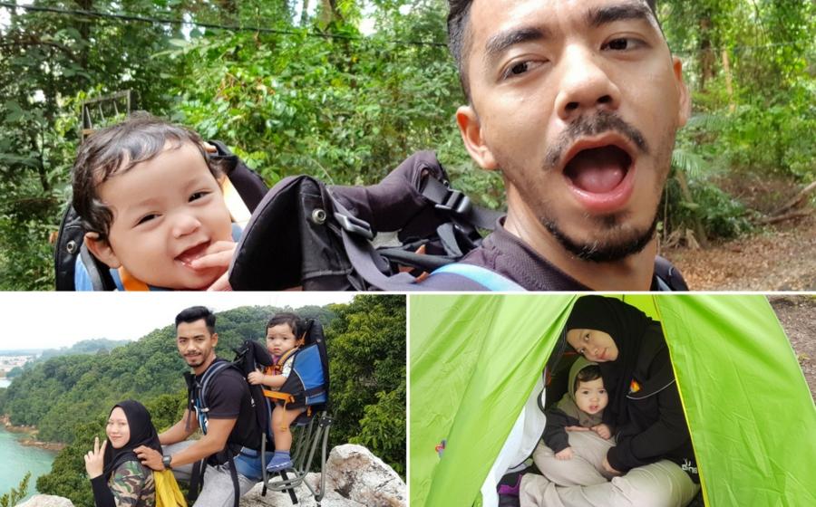Adakah Selamat Bawa Bayi Mendaki? Bapa Ini Kongsi Panduan Menarik!