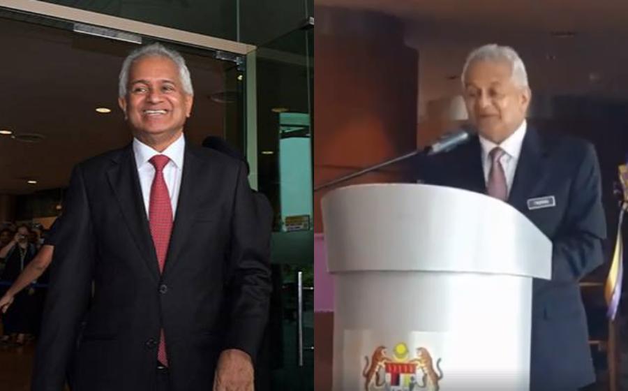 Video Peguam Negara Tommy Thomas Berucap Dalam Bahasa Melayu Jadi Viral