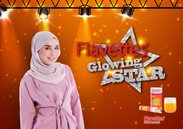 Flavettes Glowing Star banner