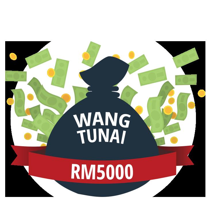 RM5000 WANG TUNAI