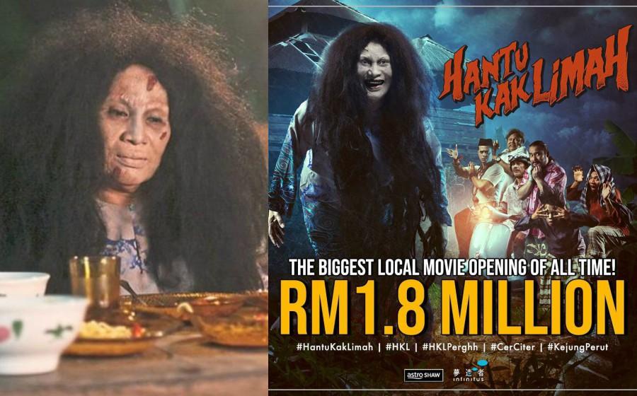 Wow! Hantu Kak Limah Raih RM1.8 Juta di Hari Pembukaan