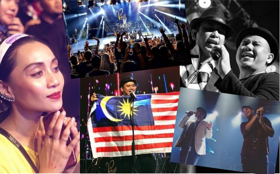 Julang Jalur Gemilang, Momen Aizat Amdan & Peminat Menangis, Konsert Padi Reborn Live In KL Memang Gempak!