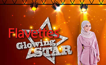 Flavettes Glowing Star