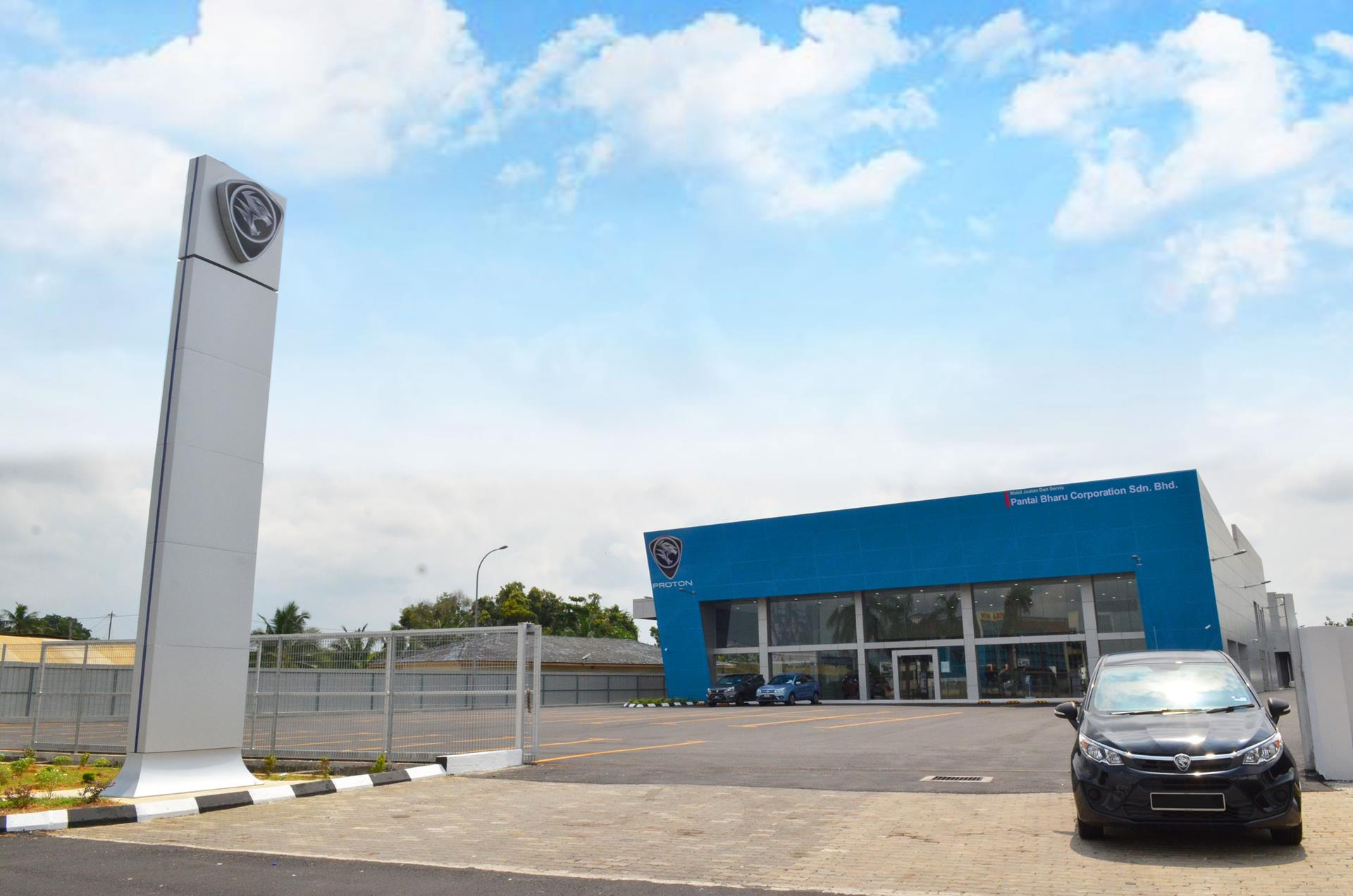 a brand new 3s proton centre in klang