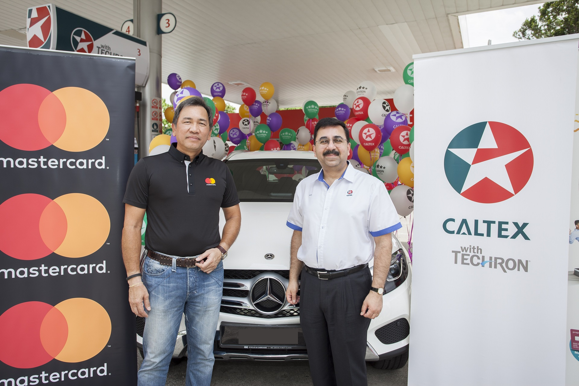 tap pump and go with mastercard to win a mercedes benz glc 200
