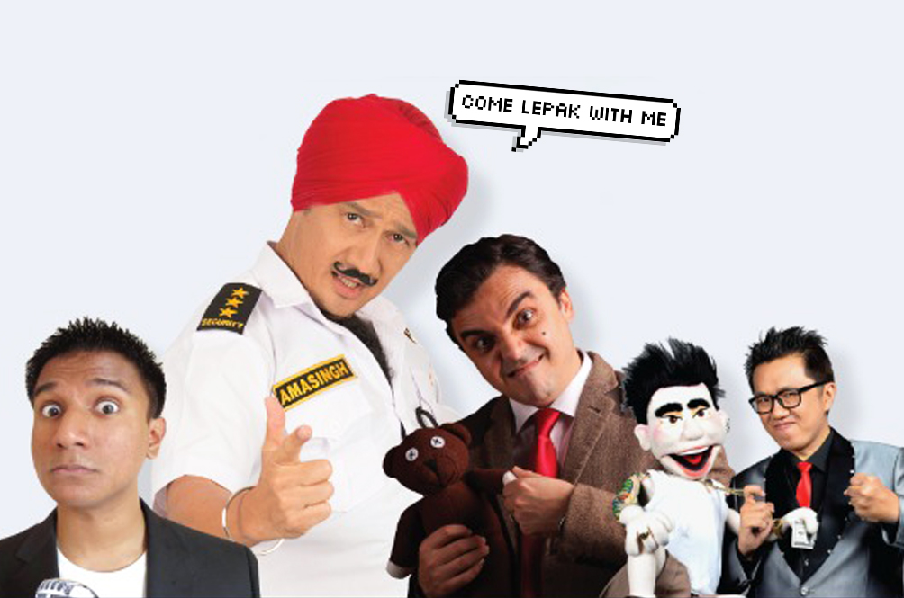 [CONTEST] Win Passes To Meet Gurmit Singh At 'Laugh Die You: Merdeka Day Special