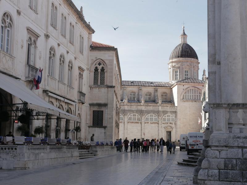 Bandar lama Dubrovnik.
