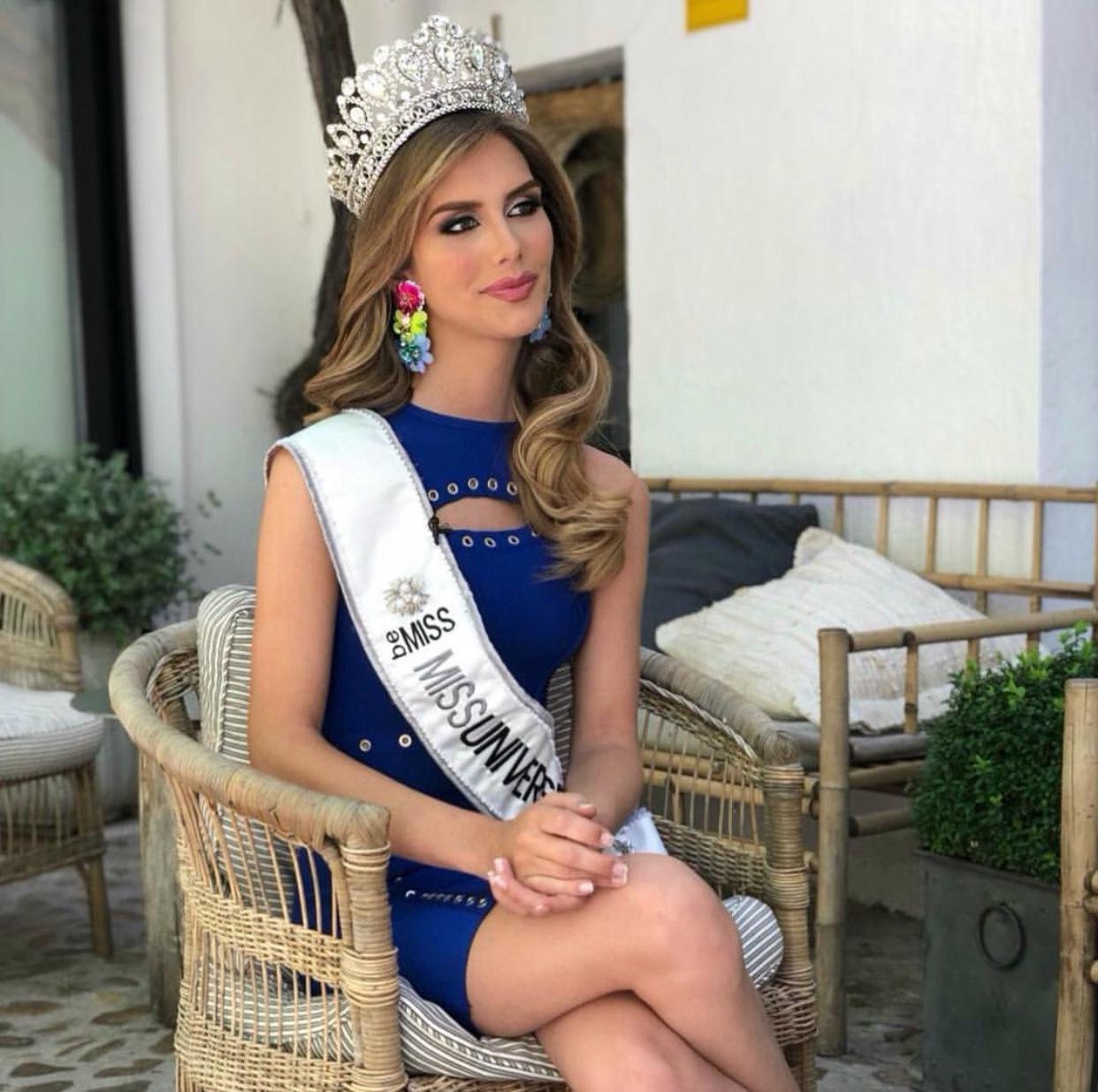 Miss Universe Sepanyol transgender yang pertama.