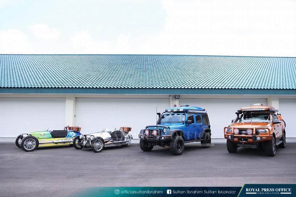 Lebih 10 Kenderaan Edisi Khas Sultan Johor Dipamerkan di MBW 2018! 24fb2ae0d5