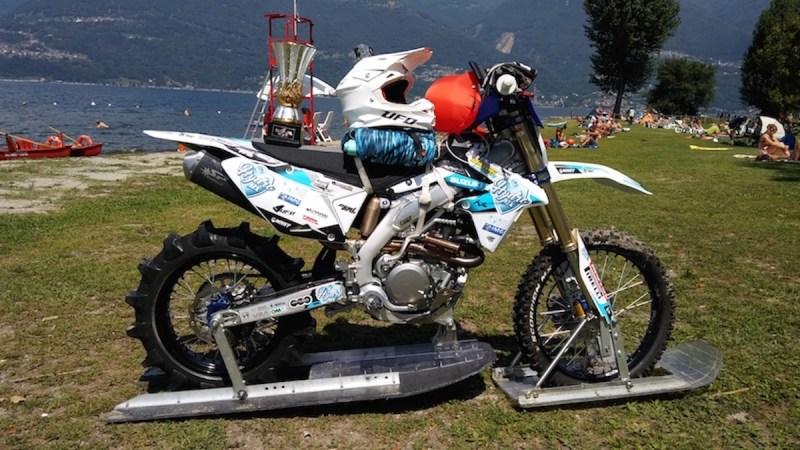 Inilah motosikal yang telah diubah suai.