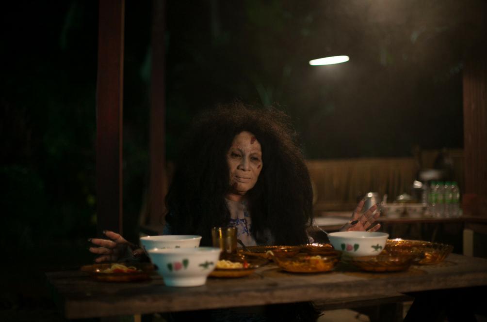 Jangan ingat berlakon watak hantu senang!