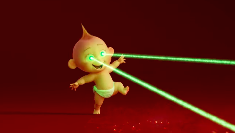 Can't imagine how powerful Jack Jack will be when he grows up.