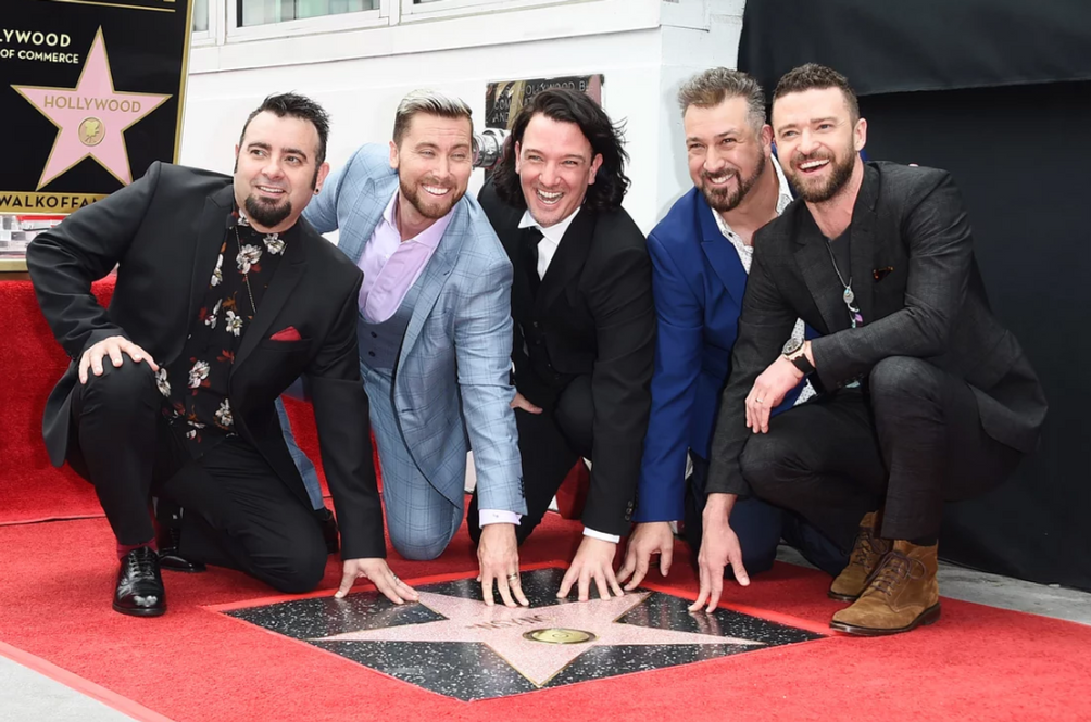 'NSYNC gets a star on Hollywood Walk of Fame