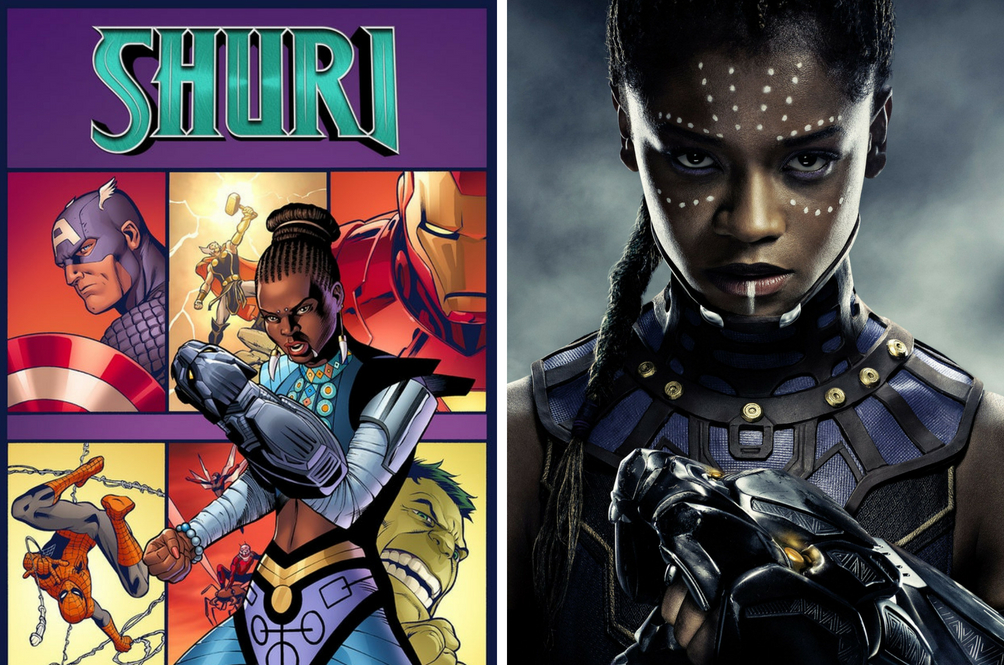 Shuri From 'Black Panther' Is Finally Getting The Standalone Comic Book She Deserves