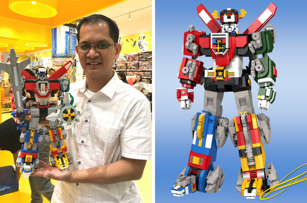Meet The Malaysia-Based Designer Who Designed The Lego Voltron