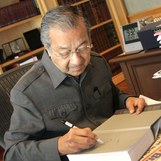 "Tun M once said, ""the pen is mightier than the sword""."