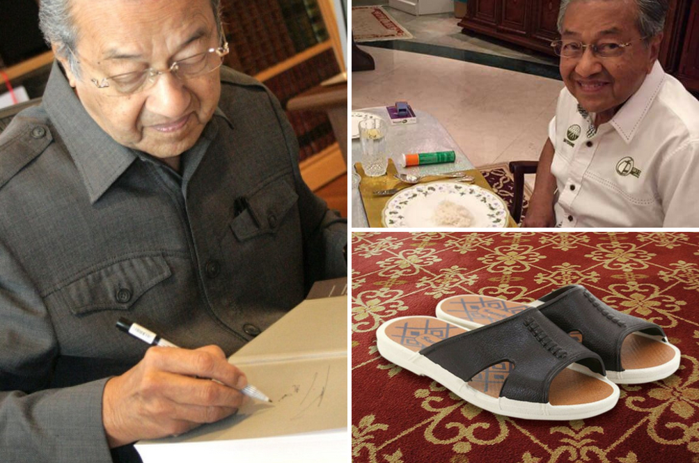 Tun Dr Mahathir Just Made These Items Look Cool Again