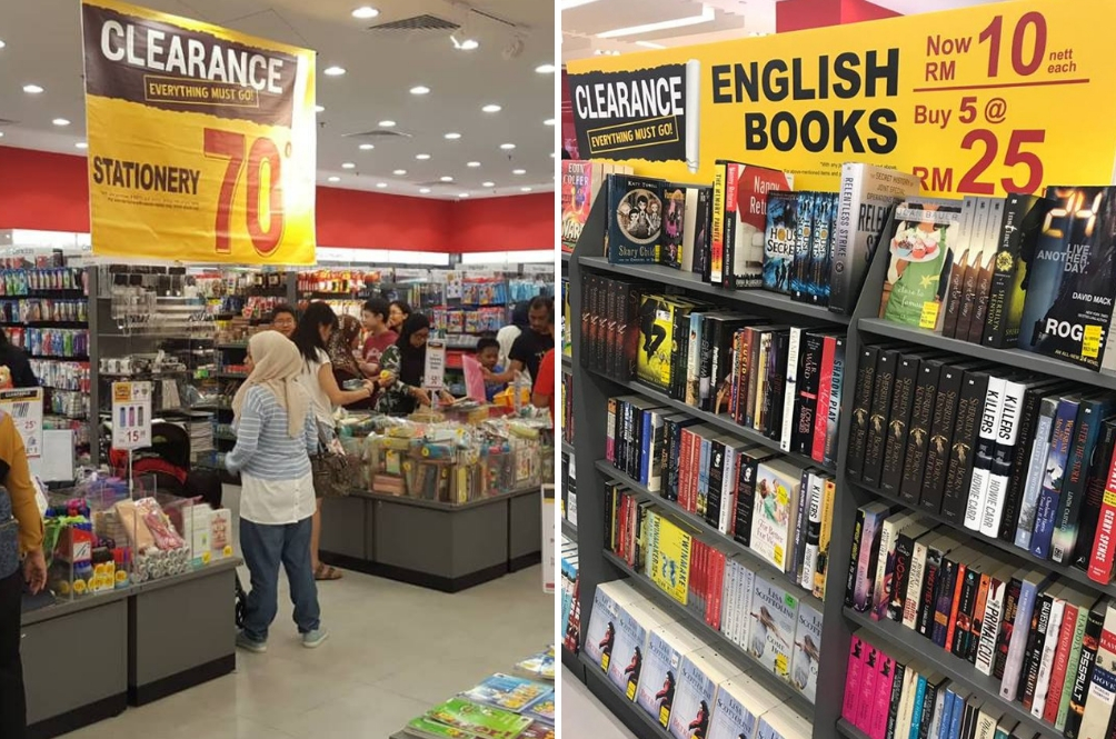 Why Are Popular Bookstore Outlets Having A Major 'Everything Must Go' Clearance Sale?