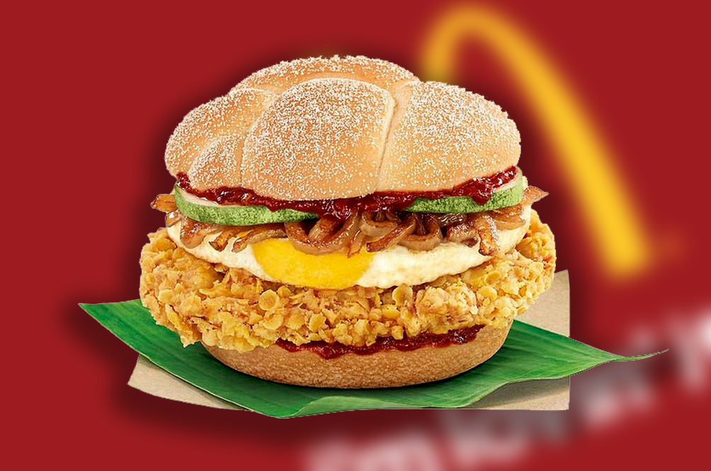 Fellow Malaysians, Are You Ready For The Nasi Lemak Burger?
