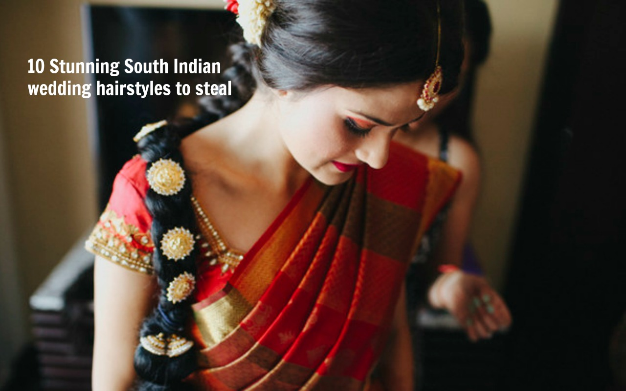 15 Wedding Hairstyles For Long Hair That Steal The Show: 10 Stunning South Indian Wedding Hairstyles To Steal